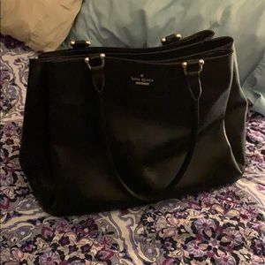 Beautiful black Kate Spade purse